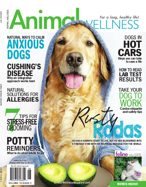 Animal Wellness Magazine Jun/July 2017