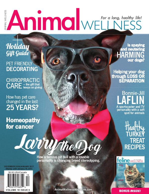 Animal Wellness Magazine Dec/Jan 2016