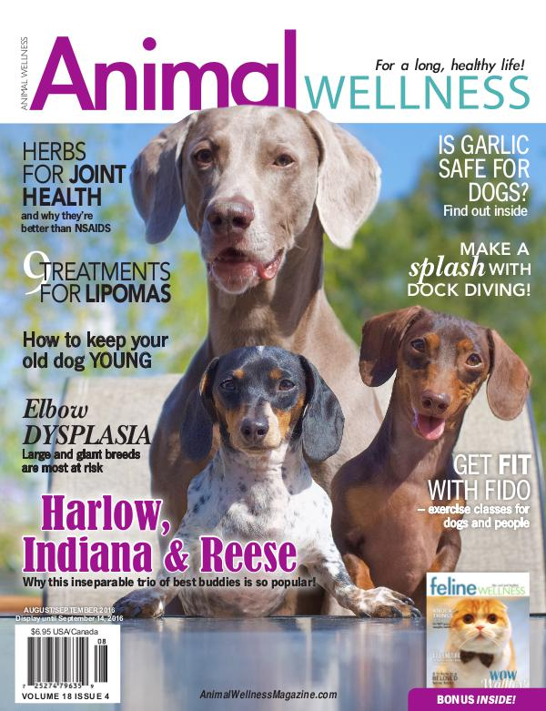 Animal Wellness Magazine Aug/Sept 2016