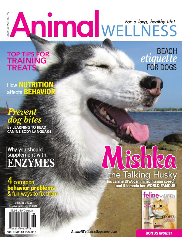 Animal Wellness Magazine Jun/July 2016