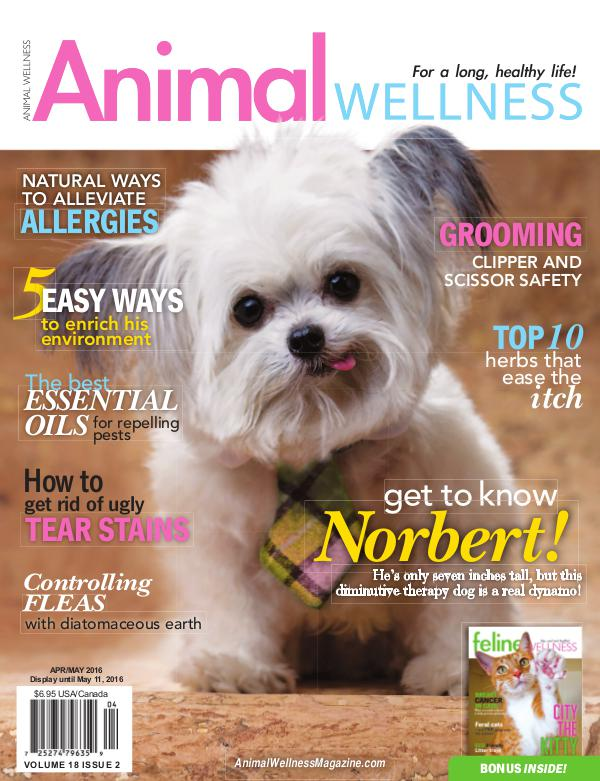 Animal Wellness Magazine Apr/May 2016