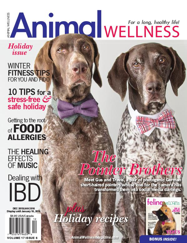 Animal Wellness Magazine Dec/Jan 2015