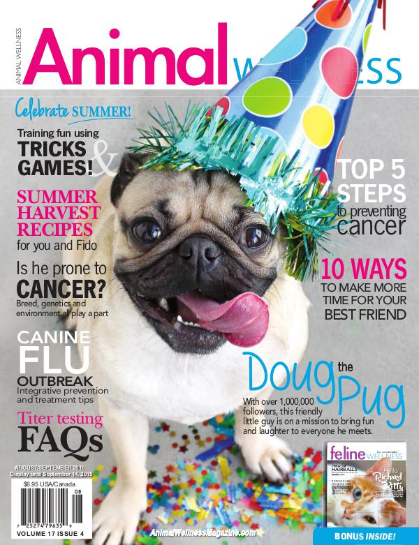 Animal Wellness Magazine Aug/Sep 2015