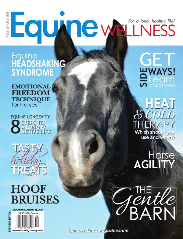 Equine Wellness Magazine Dec/Jan 2014