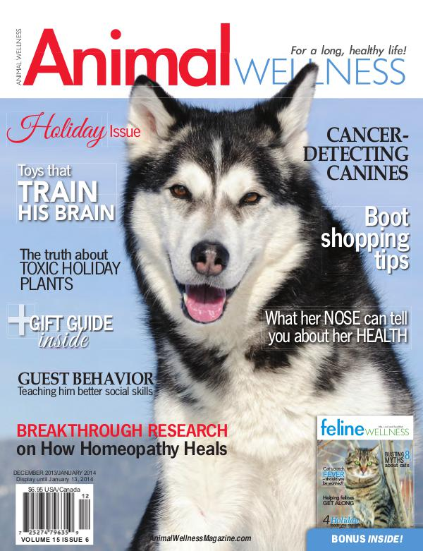 Animal Wellness Magazine Dec/Jan 2013
