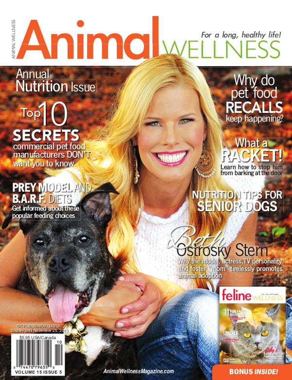 Animal Wellness Magazine Oct/Nov 2013