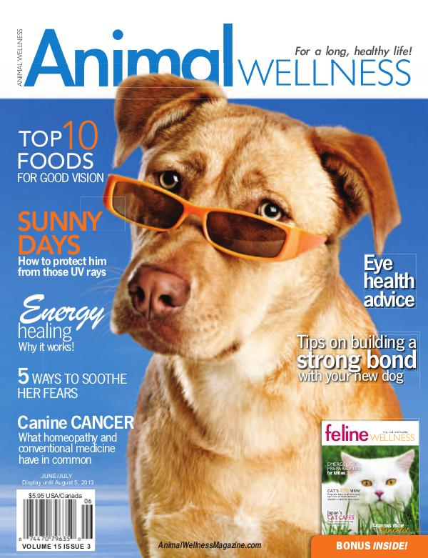 Animal Wellness Magazine Jun/July 2013