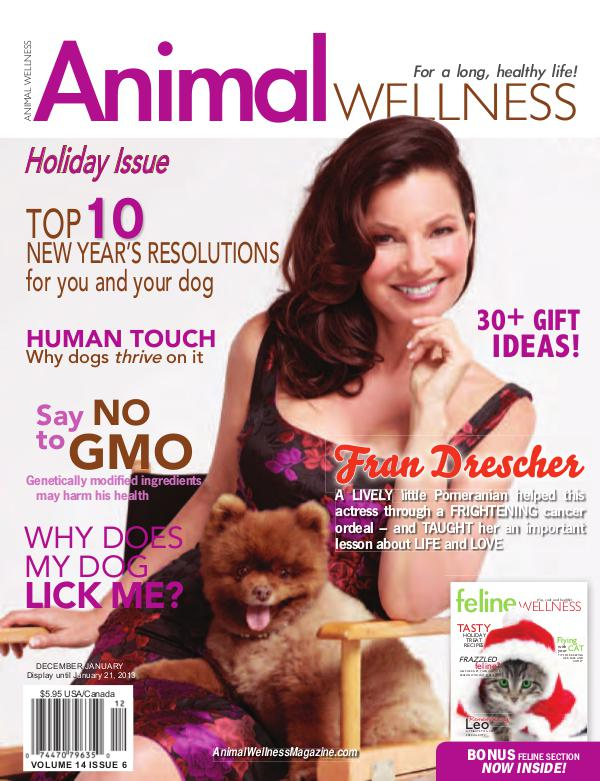 Animal Wellness Magazine Dec/Jan 2012