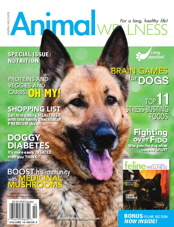 Animal Wellness Magazine Oct/Nov 2012
