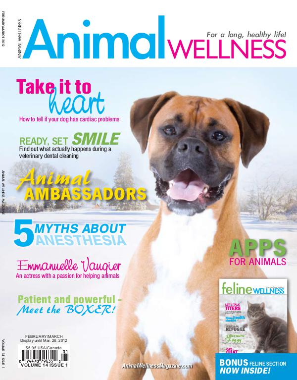 Animal Wellness Magazine Feb/Mar 2012