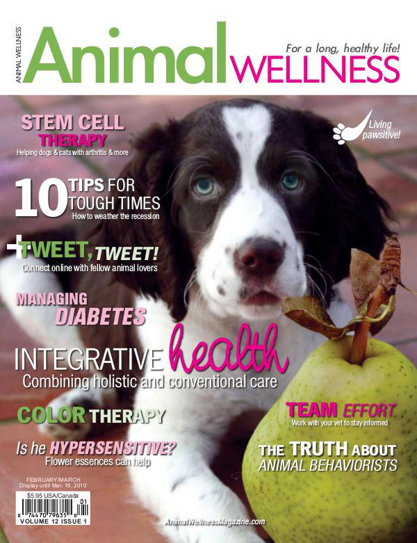 Animal Wellness Magazine Feb/Mar 2010