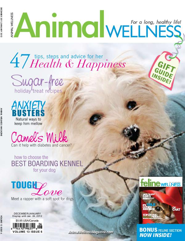 Animal Wellness Magazine Dec/Jan 2011