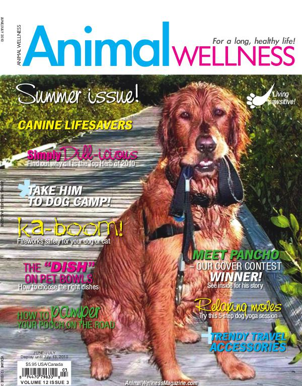 Animal Wellness Magazine Jun/July 2010