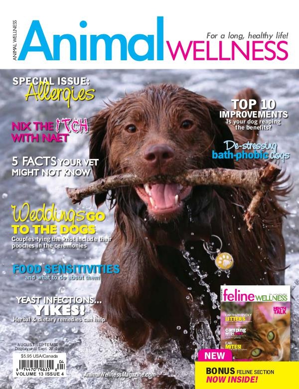 Animal Wellness Magazine Aug/Sept 2011