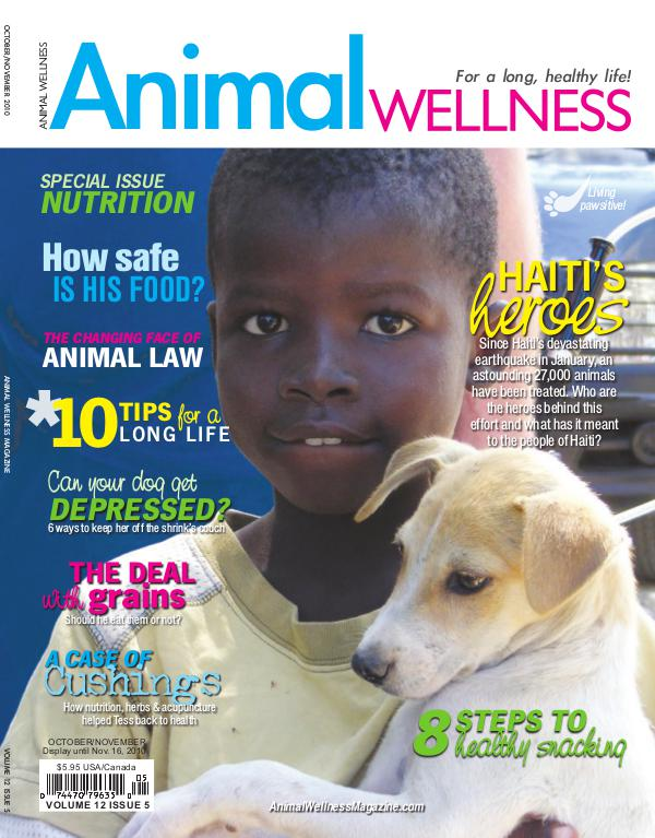 Animal Wellness Magazine Aug/Sept 2010