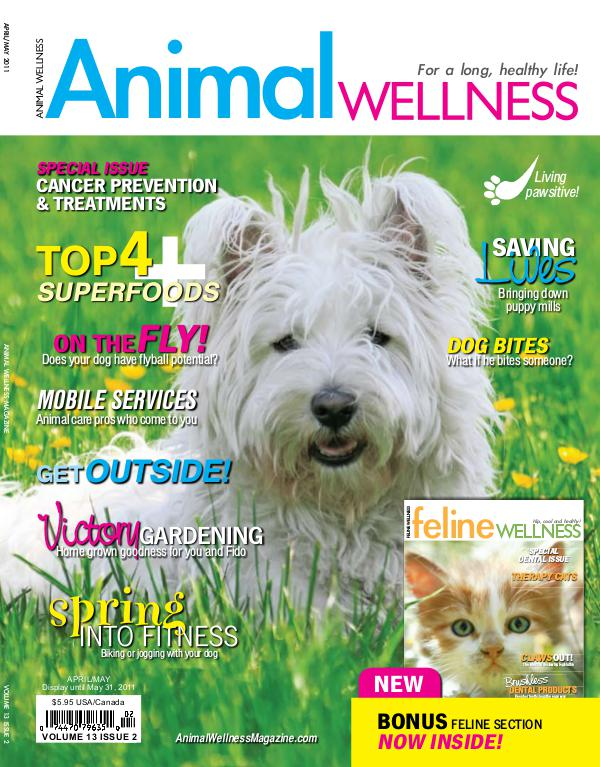 Animal Wellness Magazine Apr/May 2011