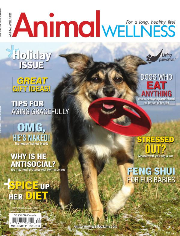 Animal Wellness Magazine Dec/Jan 2009