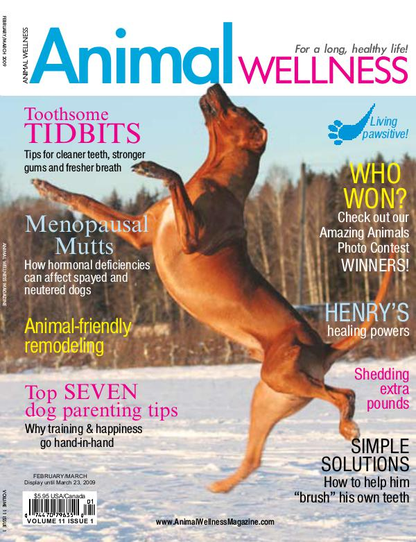 Animal Wellness Magazine Feb/Mar 2009