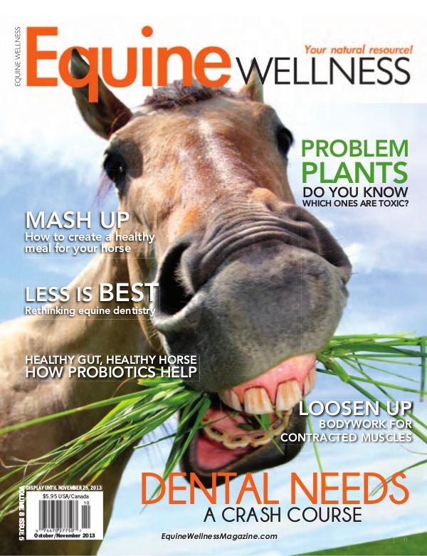 Equine Wellness Magazine Oct/Nov 2013
