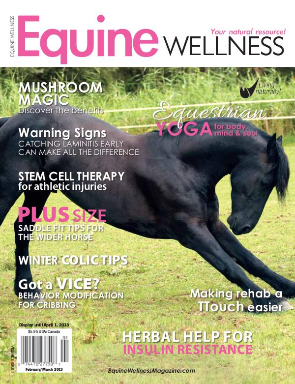 Equine Wellness Magazine Feb/Mar 2013