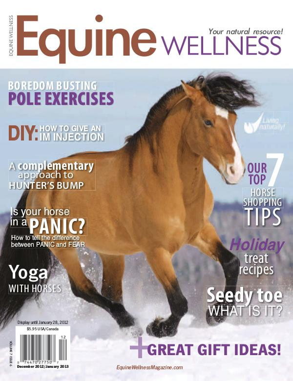 Equine Wellness Magazine Dec/Jan 2012