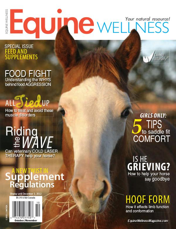Equine Wellness Magazine Oct/Nov 2012