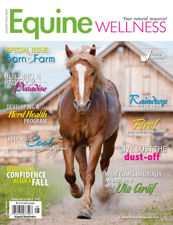 Equine Wellness Magazine Aug/Sep 2012