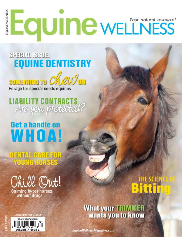 Equine Wellness Magazine Feb/Mar 2012