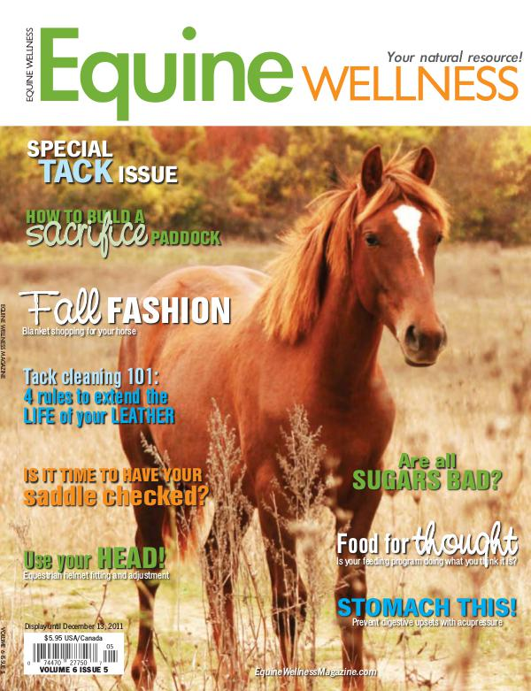 Equine Wellness Magazine Oct/Nov 2011