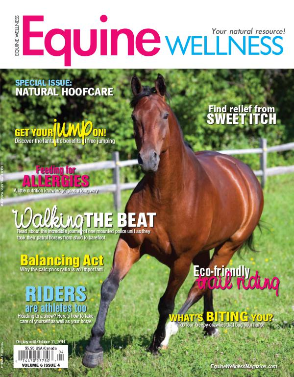 Equine Wellness Magazine Aug/Sep 2011