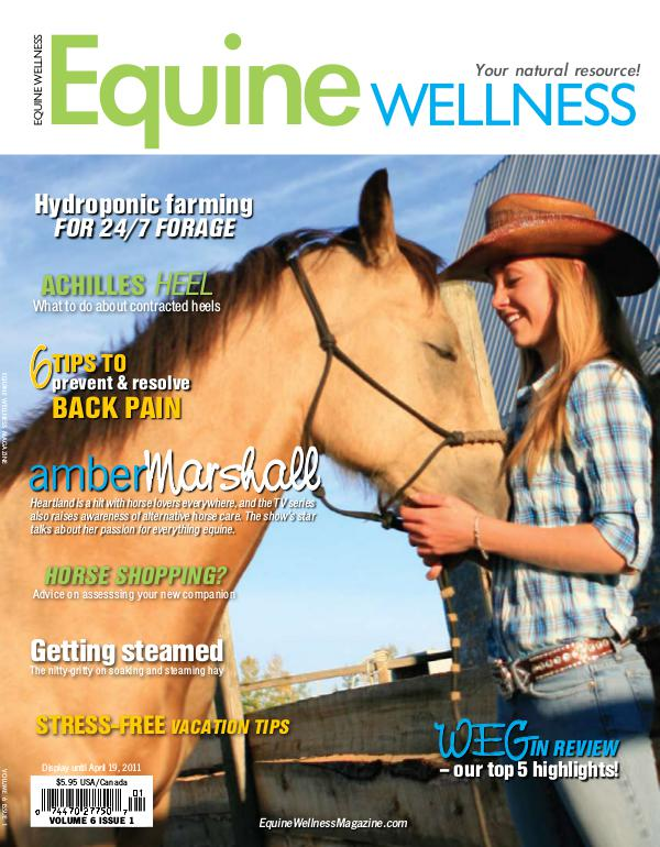 Equine Wellness Magazine Feb/Mar 2011