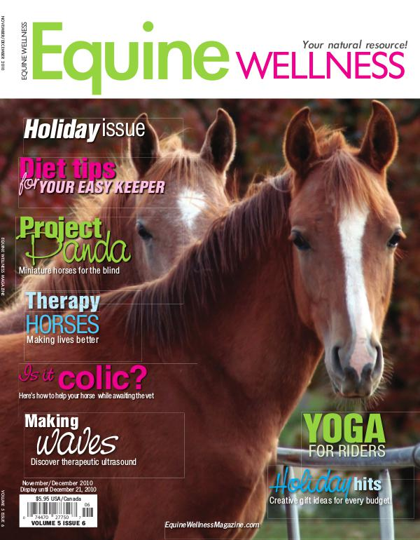 Equine Wellness Magazine Nov/Dec 2010