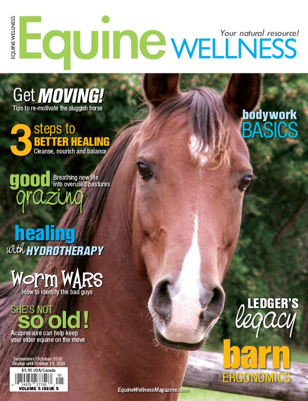 Equine Wellness Magazine Sep/Oct 2010