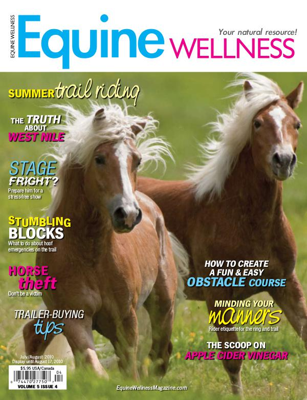Equine Wellness Magazine Jul/Aug 2010