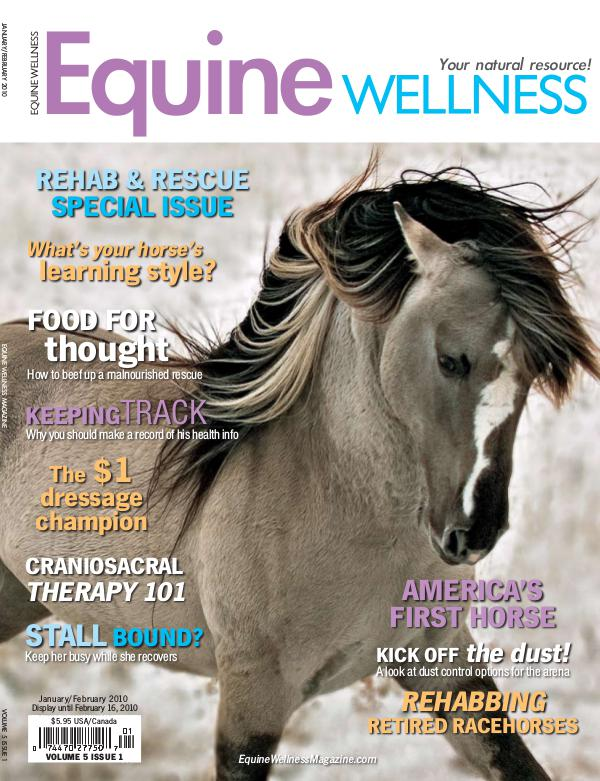 Equine Wellness Magazine Jan/Feb 2010