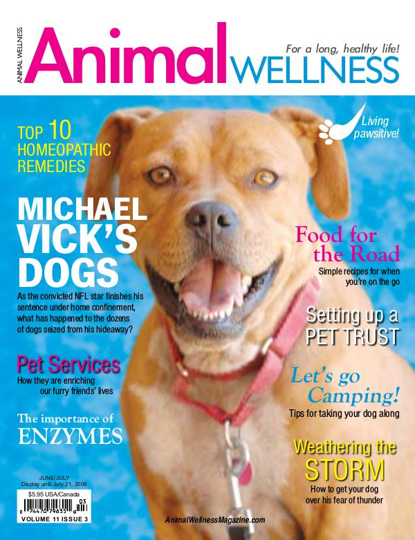 Animal Wellness Magazine Jun/July 2009