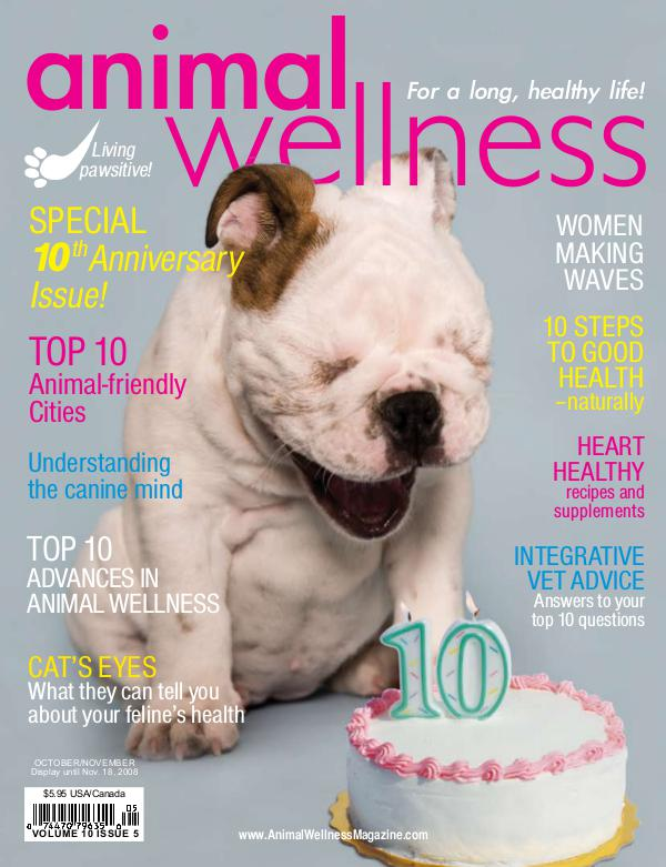 Animal Wellness Magazine Oct/Nov 2008
