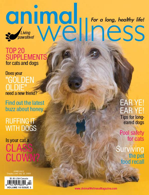 Animal Wellness Magazine Jun/July 2008