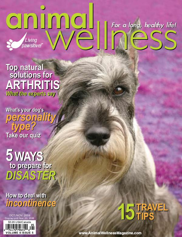 Animal Wellness Magazine Oct/Nov 2006