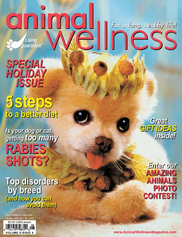 Animal Wellness Magazine Dec/Jan 2006
