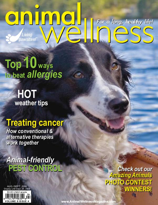 Animal Wellness Magazine Aug/Sep 2006