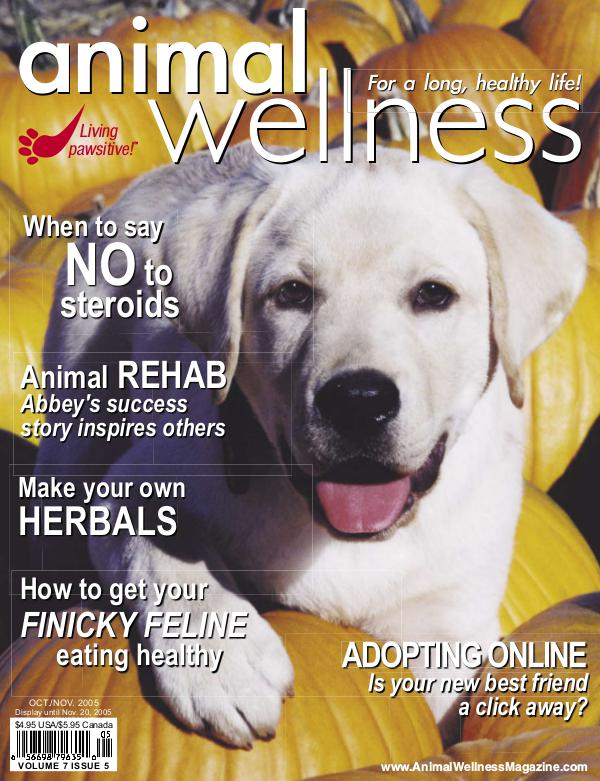 Animal Wellness Magazine Oct/Nov 2005