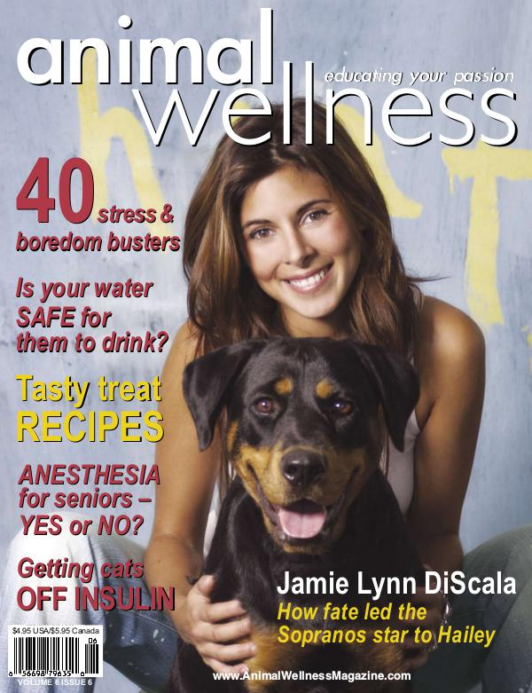 Animal Wellness Magazine Dec/Jan 2004