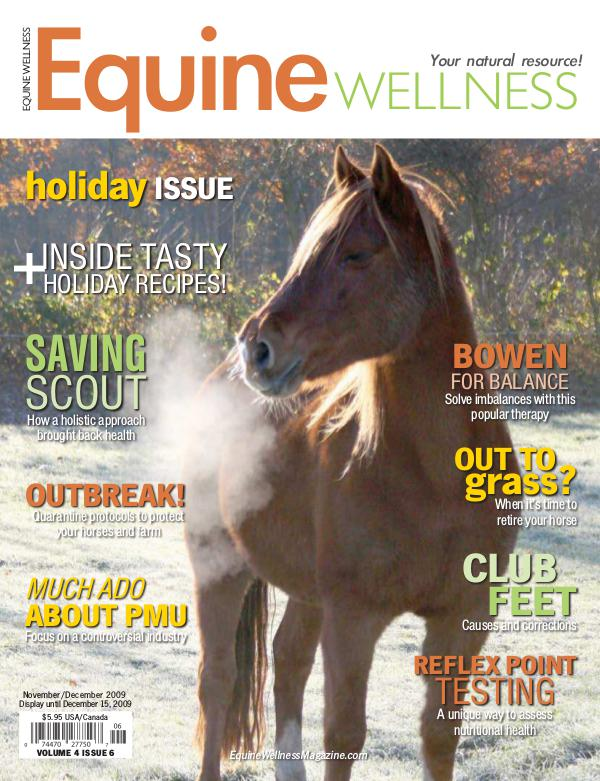 Equine Wellness Magazine Nov/Dec 2009
