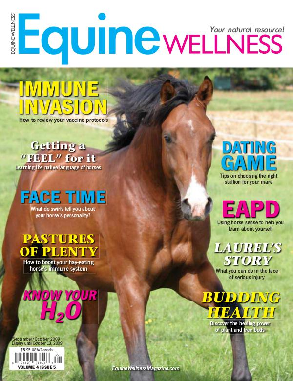 Equine Wellness Magazine Sep/Oct 2009