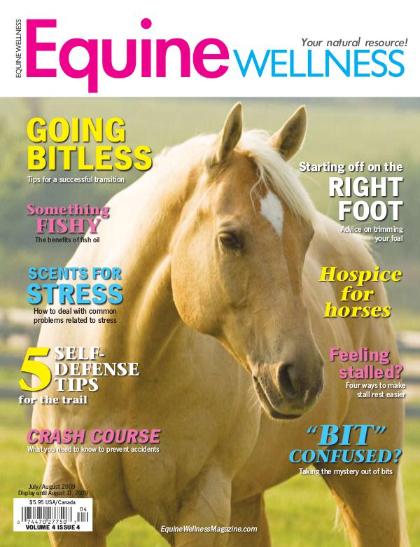 Equine Wellness Magazine Jul/Aug 2009