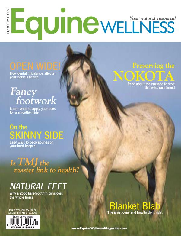 Equine Wellness Magazine Jan/Feb 2009