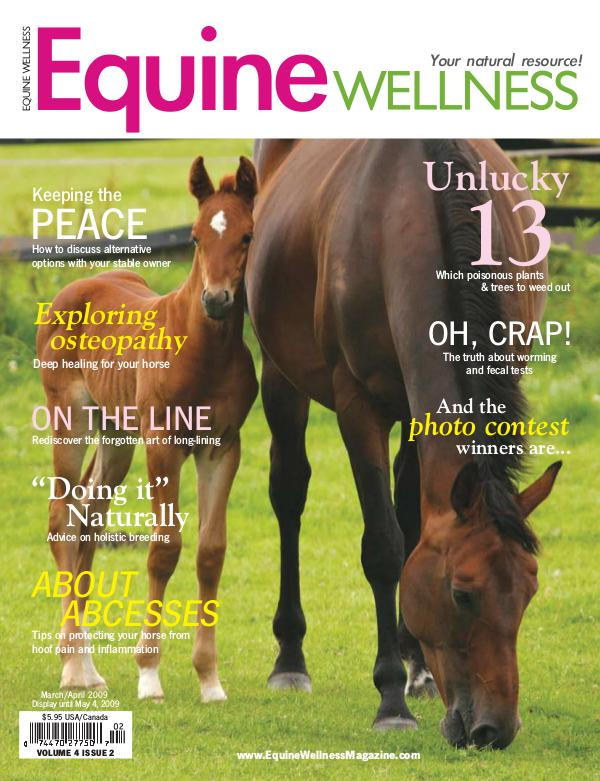 Equine Wellness Magazine Mar/Apr 2009