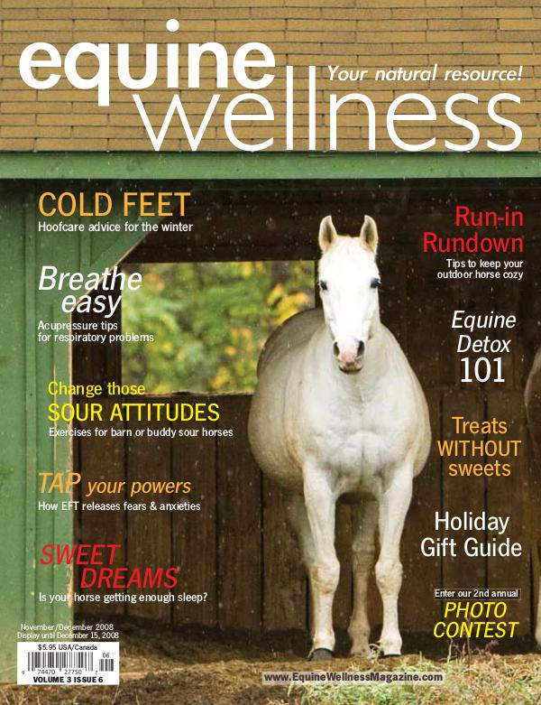 Equine Wellness Magazine Nov/Dec 2008