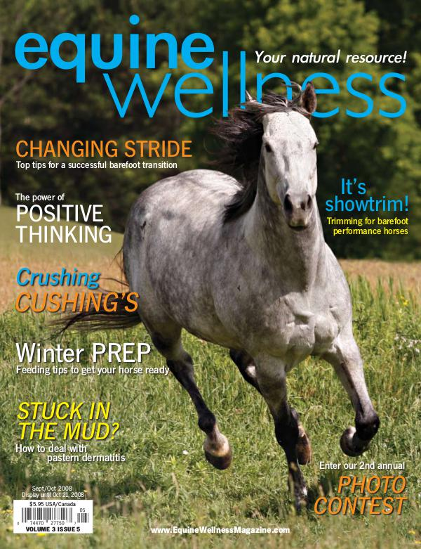 Equine Wellness Magazine Sep/Oct 2008